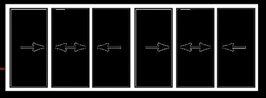 Pentasigma Sliding Door Openings